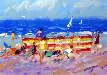 Cromer Beach by Alan Oliver