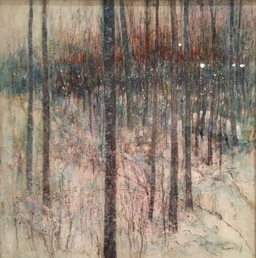 Treescape - Winter by Brenda Brailsford