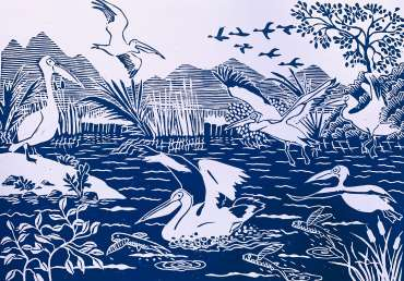 Pelican Place by Frank Bingley
