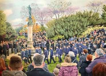 Remembrance Sunday, Hinckley by Frank Bingley