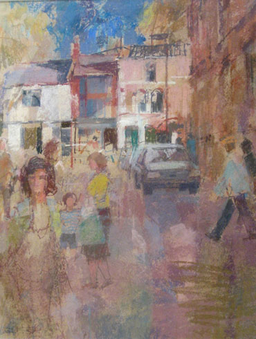 King Street Shops by Geoffrey Lee