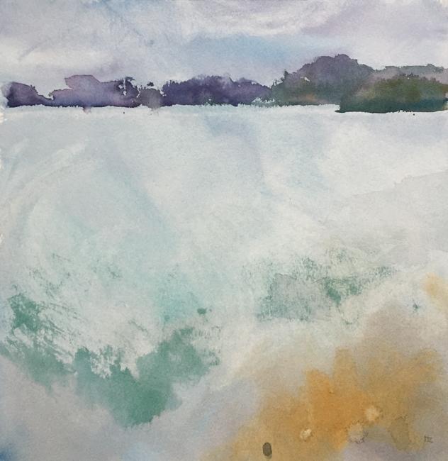 Quiet Bay by Hazel Crabtree