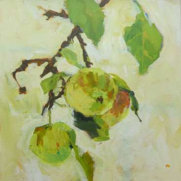 English Apples by Hazel Crabtree