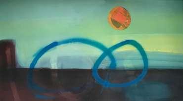 Blue Circles by Henrietta Corbett