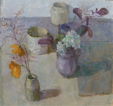 White Flowers by Jennifer Percival