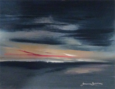 Sunset, Rutland by Joanna Fairley