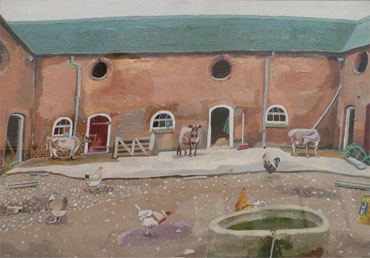 Portrait of a Staffordshire Farmyard by John Redfern