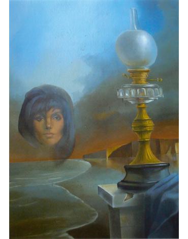 The Lighthouse by John Voss