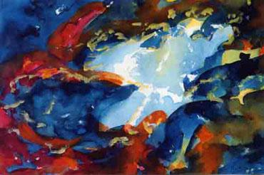 The Crab Nebula by Joyce Markie