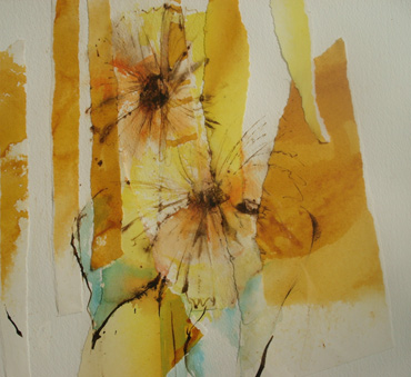 Impression Sunflower by Katie MacDowel