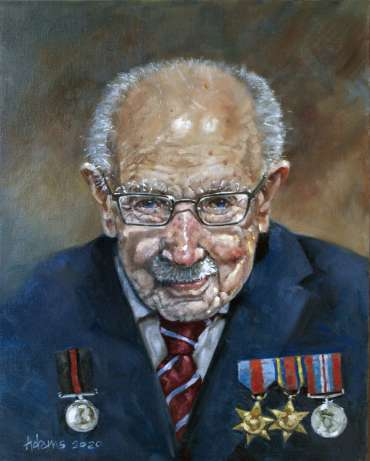 Colonel Tom Moore - An Inspirational Warrior by Kelvin Adams
