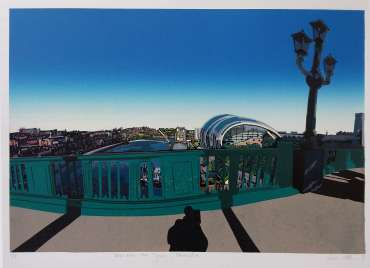 View from the Tyne, Newcastle by Kevin Holdaway