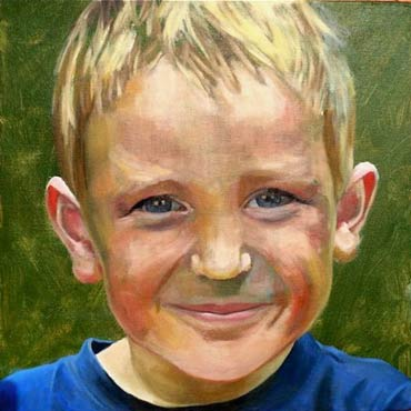 Portrait 1 by Lisa Timmerman