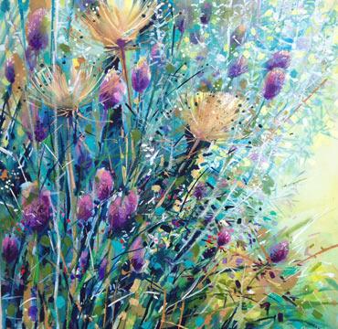 Alliums & Seedheads by Lyn Armitage