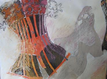 Dancing Basques 2 by Margaret Chapman