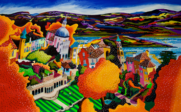 Portmeirion - commission by Mikki Longley