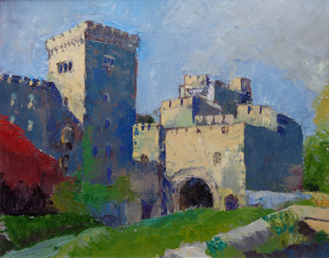 Penrhyn Castle by Nanette Whiteway