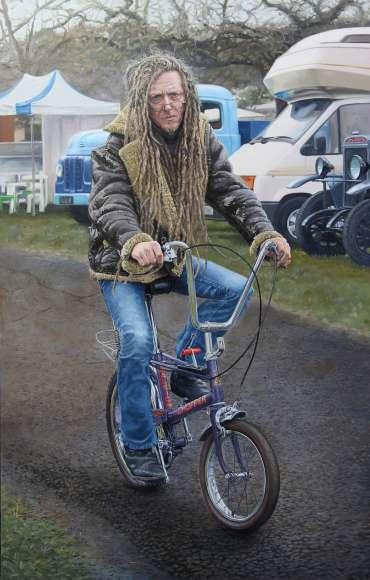 Chopper - A Portrait of Flynn Beltane - 2018 by Pete Underhill