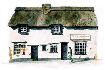 The Thatched Cottage, Higham Ferrers by Robert Hewson