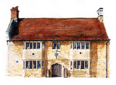 The Old House, Higham Ferrers by Robert Hewson