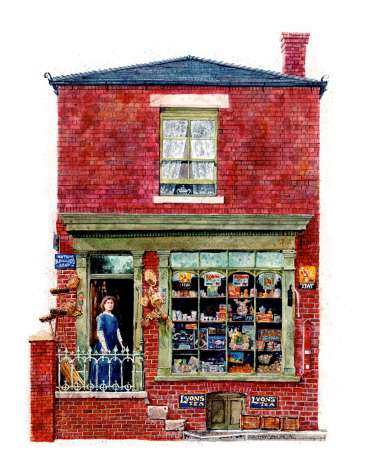 Betty Buckby's Shop by Robert Hewson