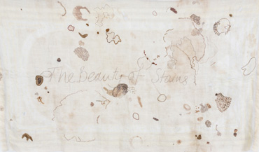 The Beauty of Stains (detail) by Ruth Singer