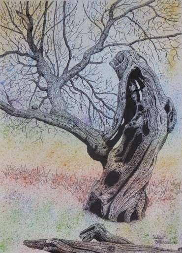 Lightning Tree by Sally Struszkowski