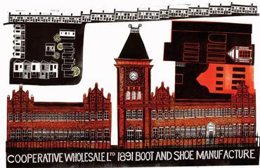 Wheatsheaf Works, Leicester by Sarah Kirby