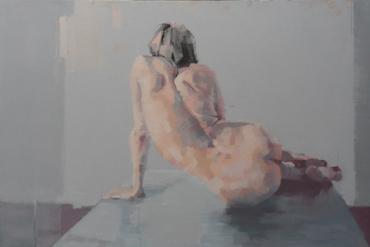 Reclining Nude by Scott Bridgwood