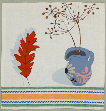 Leaf and Jug by Victoria Whitlam