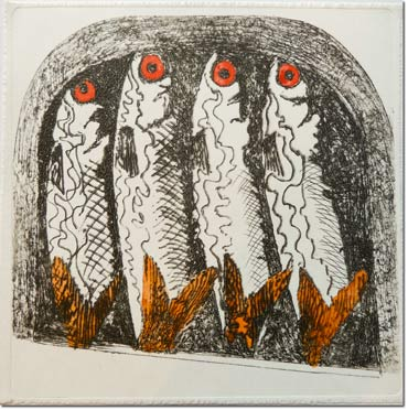 Etching by John Barradell