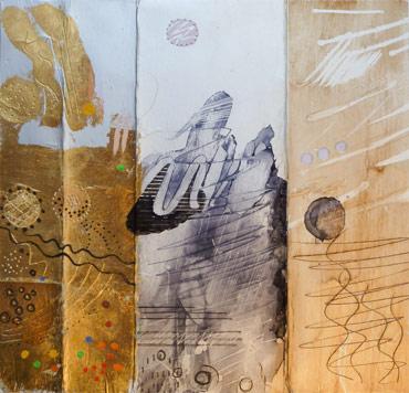 Jahn Barradell, ink, acrylic on tetra-pack