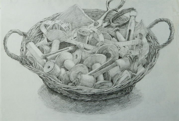 Drawing by Mary Rodgers