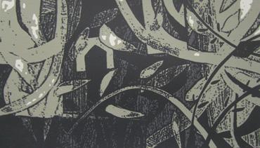 Linoprint by Peter Clayton