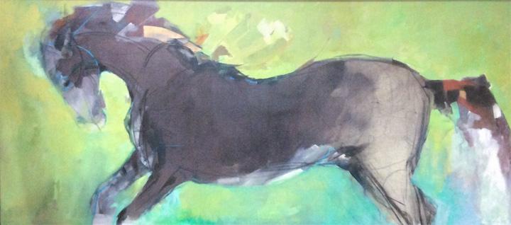 Painting by Louise Ellerington