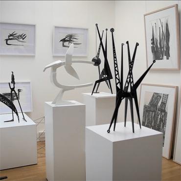 Studio of sculptor John Sydney Carter