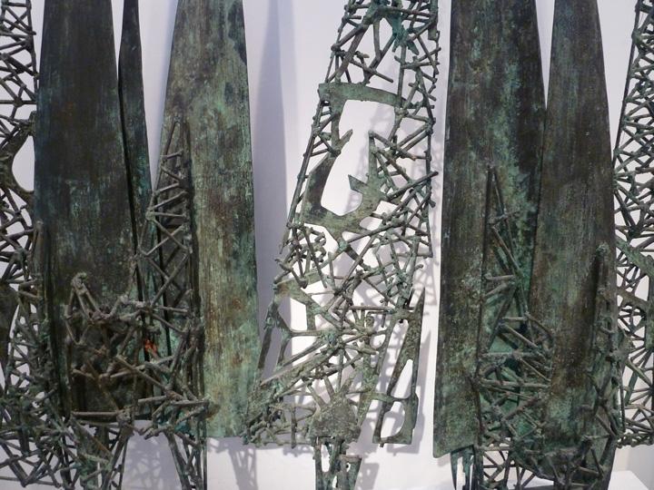 closeup of sculpture by John Sydney Carter