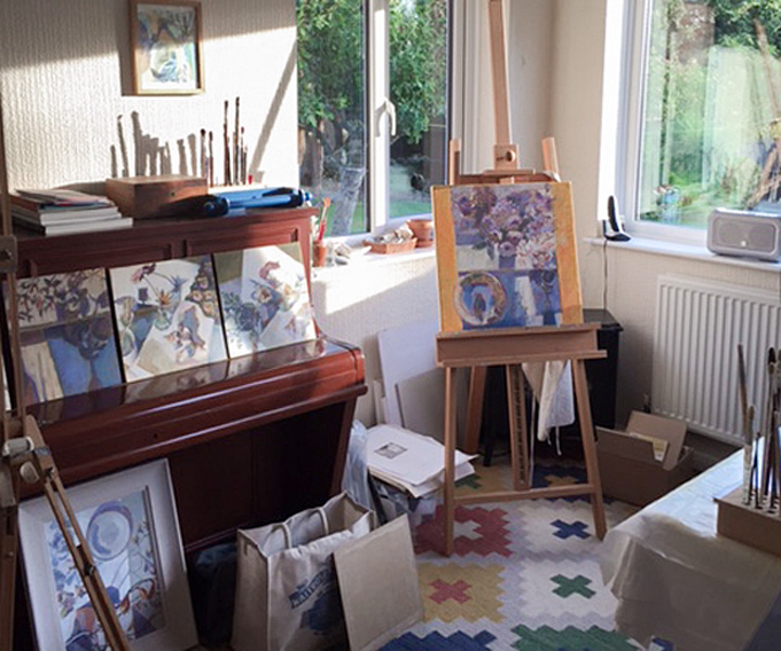 Lesley Brooks studio