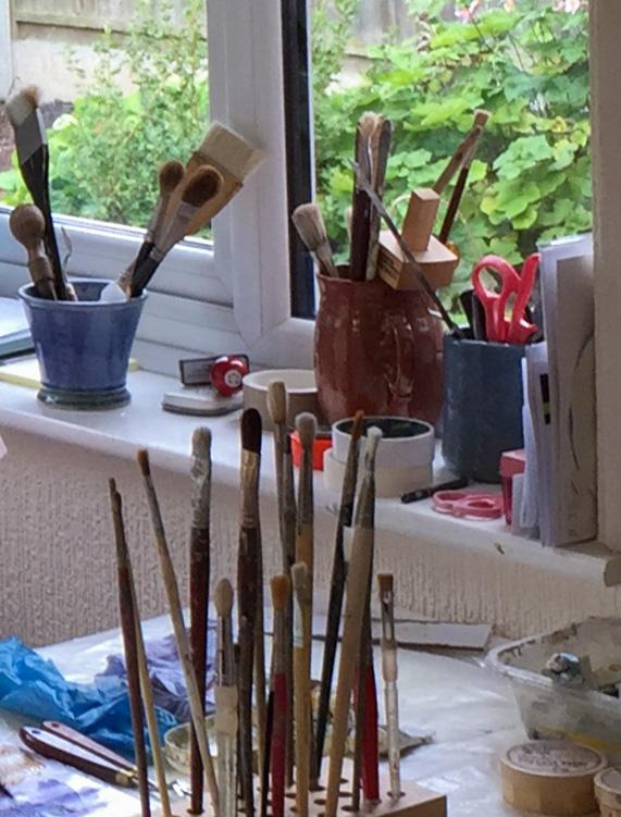 Lesley Brooks studio