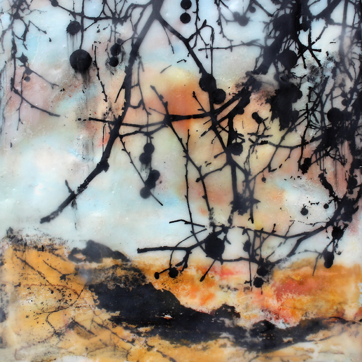 Encaustic by Jo Sheppard