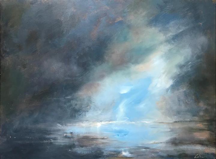Painting by Linda Sharman