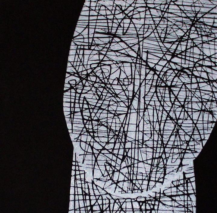 Linocut by Fiona Humphrey