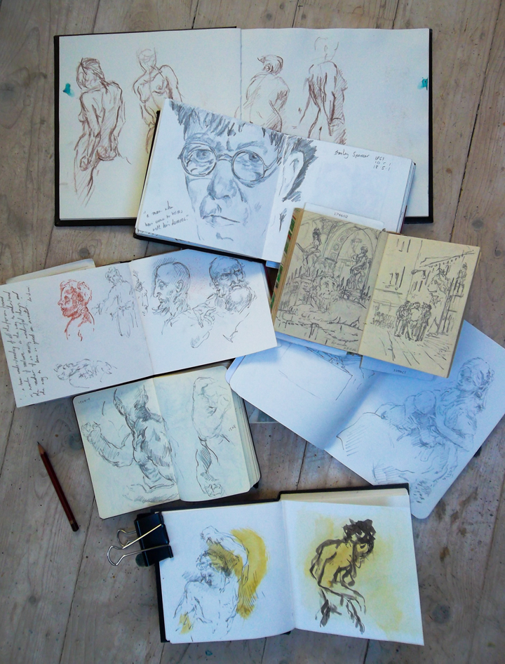 Mark Hancock's sketchbooks