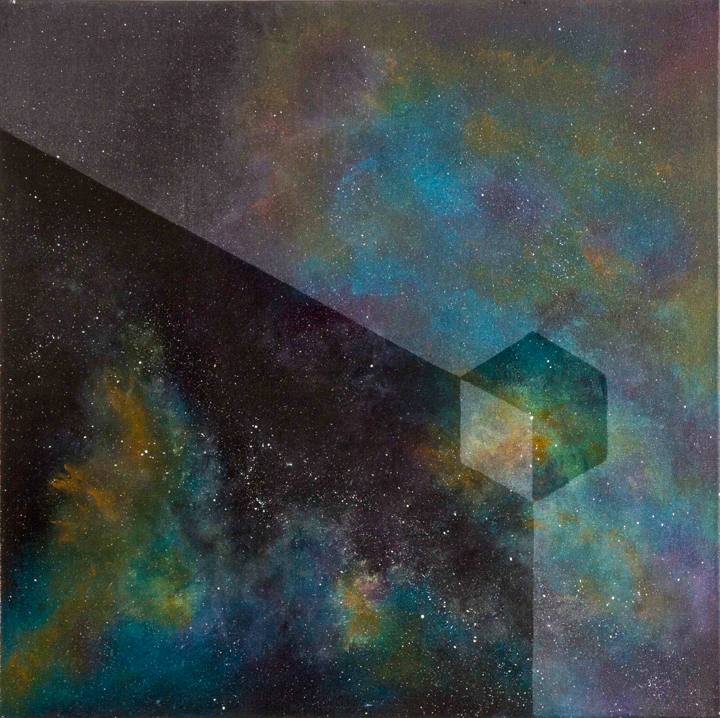 Painting by Loz Atkinson