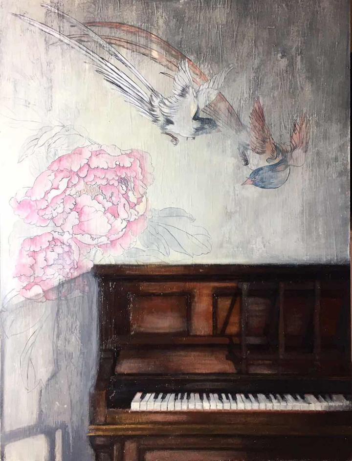 Painting by Siyuan Ren