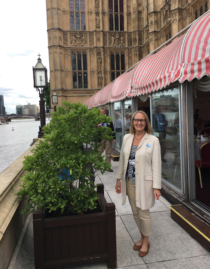 Lisa Timmerman at the House of Lords