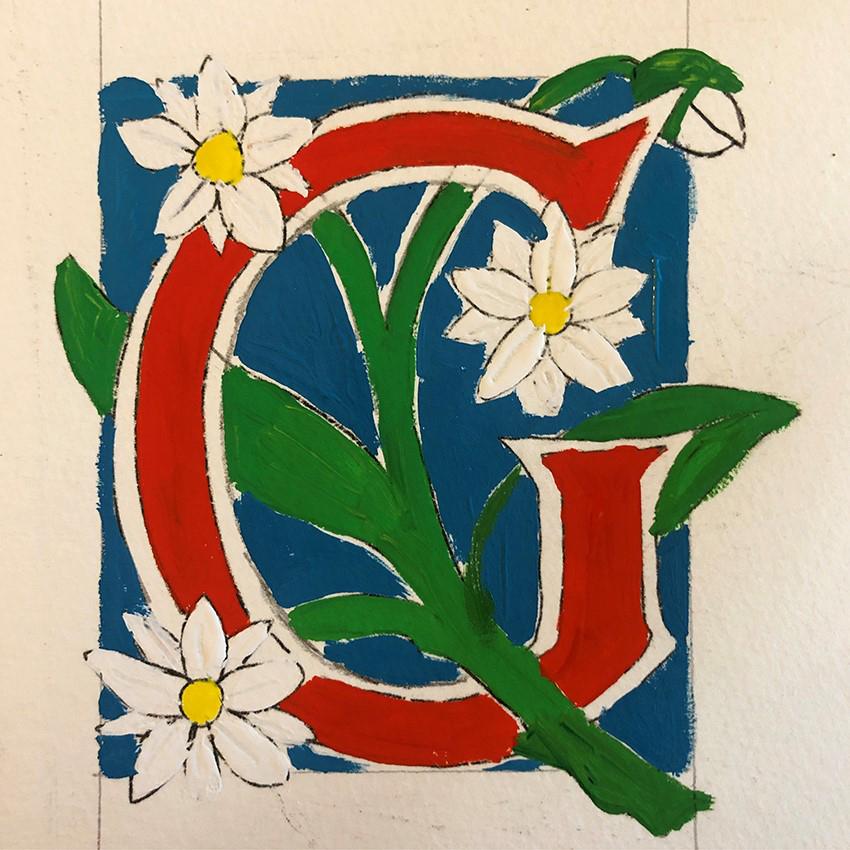 Paint, using gouache
