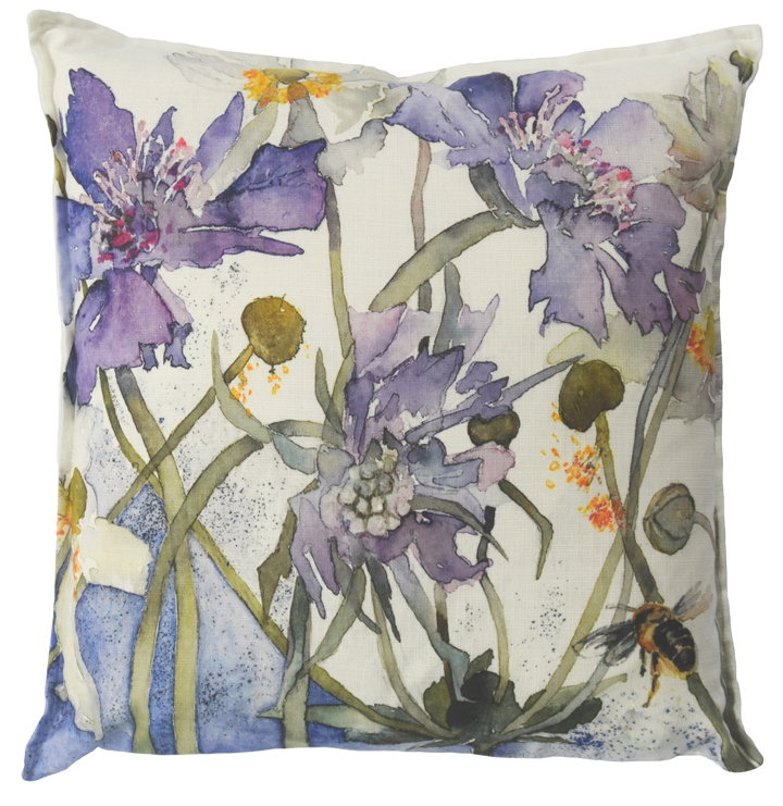 Vivienne Cawson, 'The Visitor' cushion
