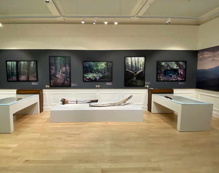 Loz Atkinson, 'Finding the Fallen' at New Walk Museum