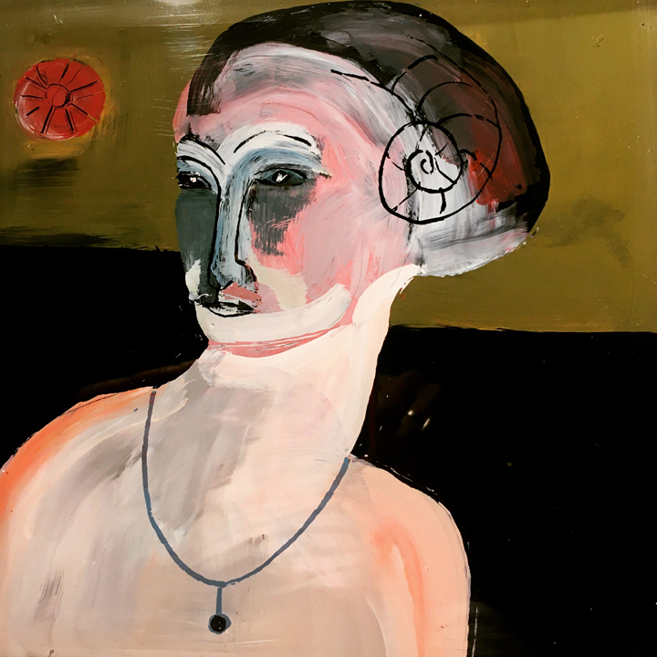 Henrietta Corbett, 'Woman with Ram's Head'